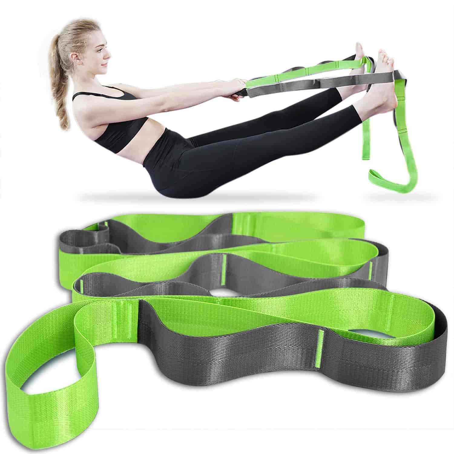 Best Multi-Loop Onory Yoga Strap Stretch
