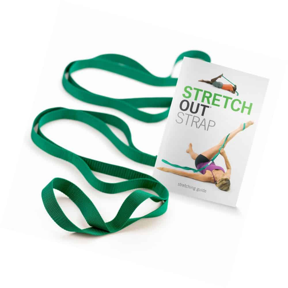 Original Stretch Out Strap with Exercise Book by OPTP