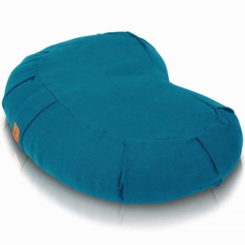 Seat of your soul, Buckwheat Crescent Meditation Pillow