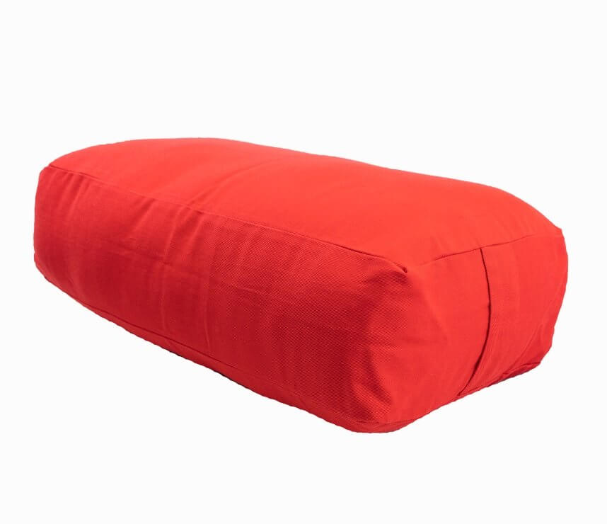 Yoga Accessories - Supportive Round Cotton Yoga Bolster