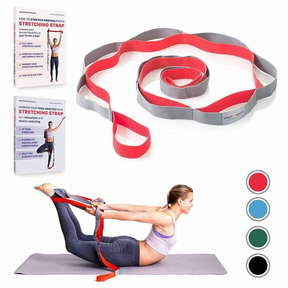 Yoga strap for Sport2People stretching